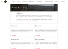 ankitkulshreshtha.com