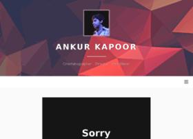 ankurkapoor.com