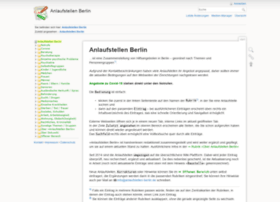 anlaufstellen-berlin.de