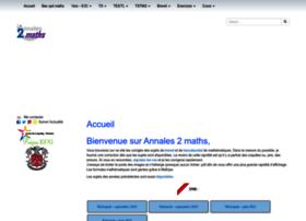 annales2maths.com