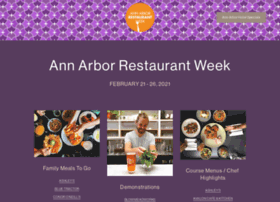 annarborrestaurantweek.com