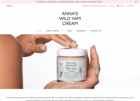 annaswildyamcream.com.au