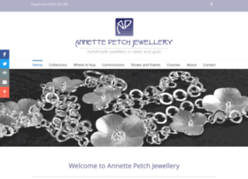 annettepetchjewellery.co.uk