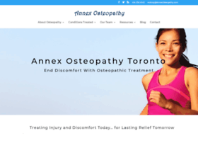 annexosteopathy.com