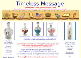 anniversarygifts.timelessmessage.com