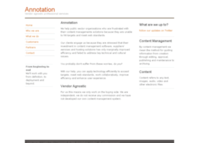annotation.co.uk