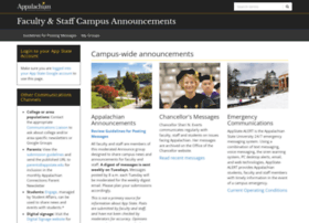 announce.appstate.edu