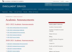announcements.cua.edu
