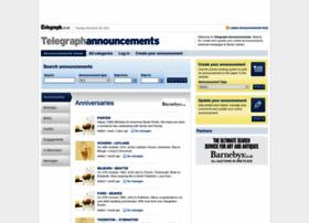 announcements.telegraph.co.uk