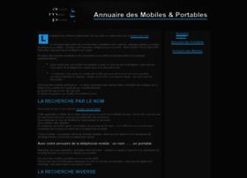 annuaire-des-mobiles-portables.fr