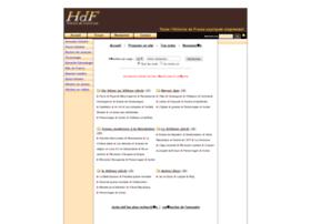 annuaire.histoiredefrance.net