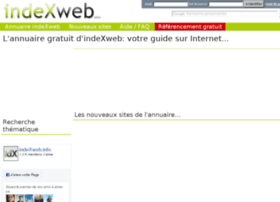 annuaire.indexweb.info