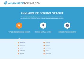 annuairedeforums.com