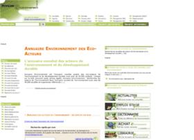 annuaires-environnement.com