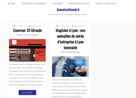 annuairesiteweb.fr