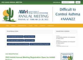 annualmeeting.aaaai.org