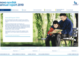 annualreport2010.novonordisk.com
