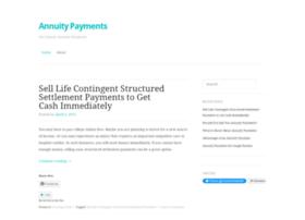 annuitypayments1.wordpress.com