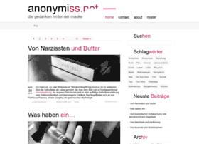 anonymiss.net