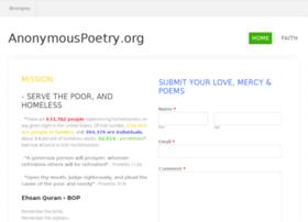 anonymouspoetry.org