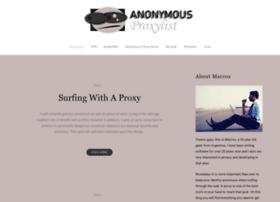 anonymousproxylist.net