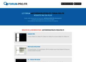 anotherworldforlife.forum-pro.fr