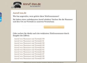 anruf-von.de