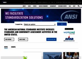 ansi.org