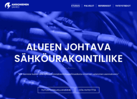 ansioniemensahko.fi