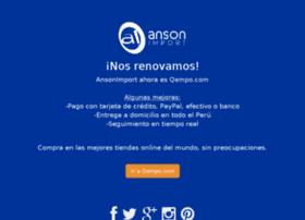 ansonimport.com
