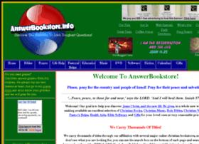 answerbookstore.info