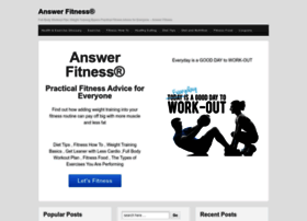 answerfitness.com