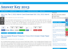 Uptet answer key 2011 websites and posts on uptet answer key 2011