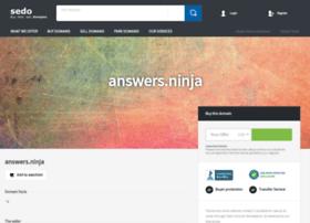 answers.ninja