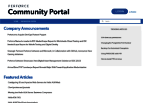 answers.perforce.com