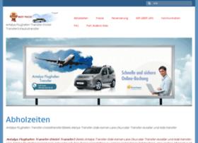 antalyaflughafentransfer.mobi
