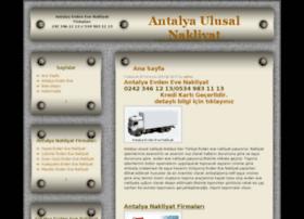 antalyaulusalnakliyat.com