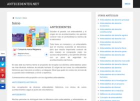antecedentes.net