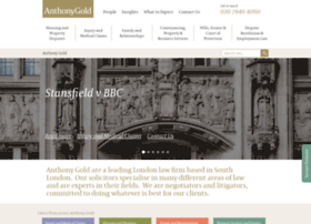anthonygold.co.uk
