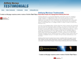 anthonymorrisontestimonials.com