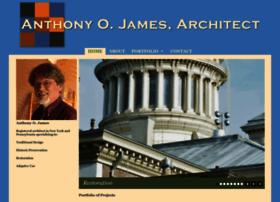 anthonyojamesarchitect.com