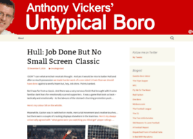 anthonyvickers.boroblogs.co.uk