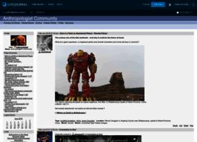 anthropologist.livejournal.com