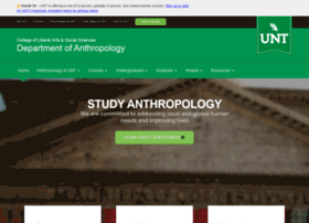 anthropology.unt.edu