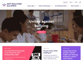 anti-bullyingalliance.org