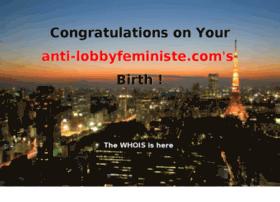 anti-lobbyfeministe.com