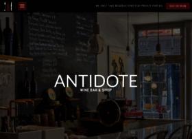 antidotewinebar.com