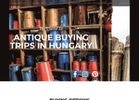 antiquebuyingtripsinhungary.com