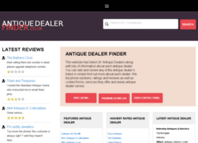 antiquedealerfinder.co.uk