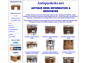 antiquedesks.net